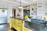 Yellow Rustic Farmhouse
