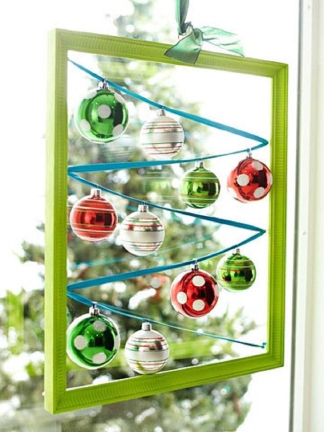 Christmas Ornament Display