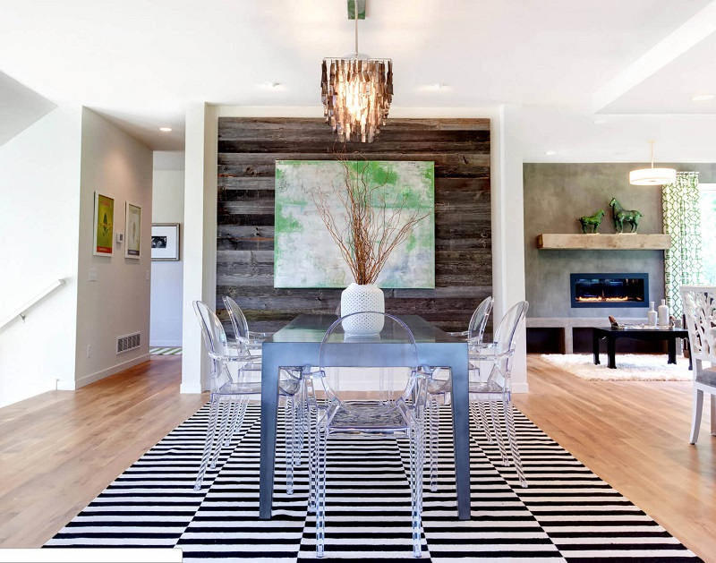 Reclaimed Wood Dining Room