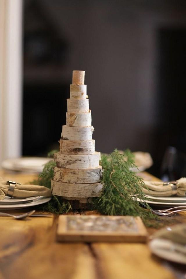 Whimsical Birch Tree