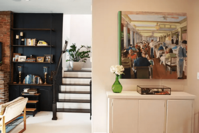 Entryway With Art