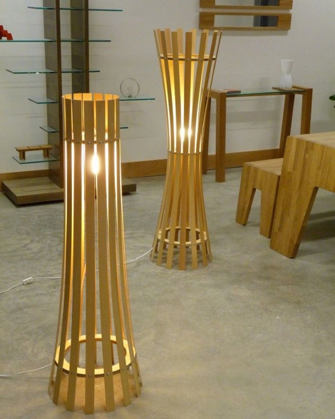 The Pinch And Splay Floor Lamps