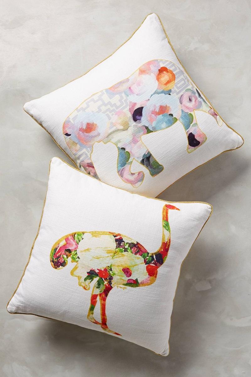 Floral Animals Pillows