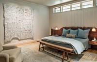 Live Edge Headboard And Beadboard Wall For Bedroom