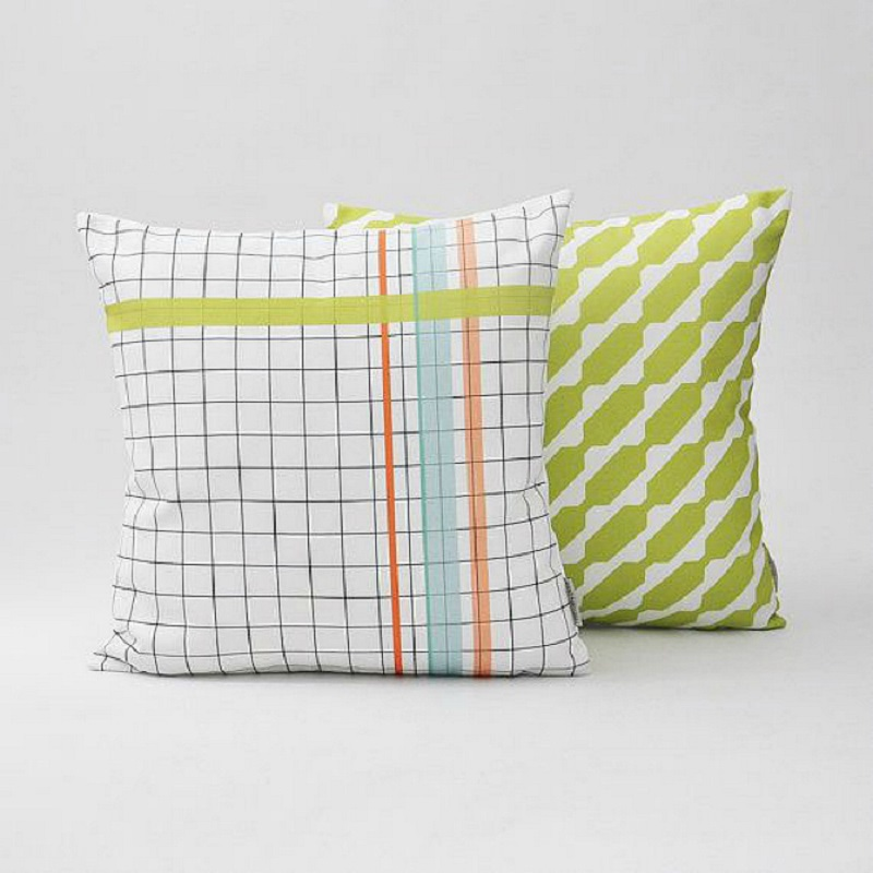 Mod Patterned Pillow