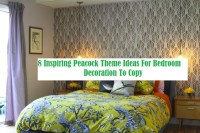 8 Inspiring Peacock Theme Ideas For Bedroom Decoration To Copy