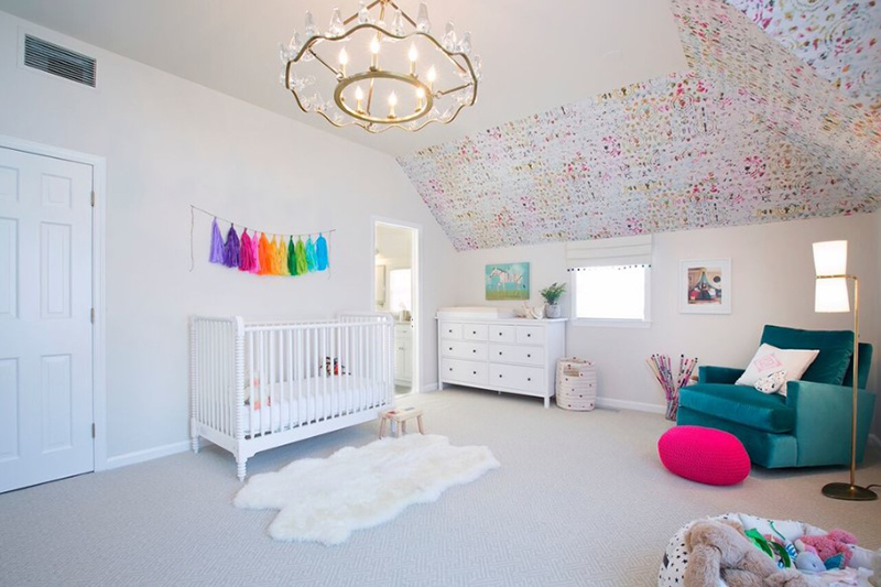 Artistic Nursery Room Design