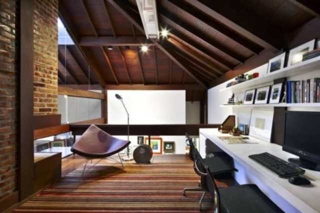 Attic For Home Office