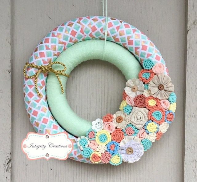 Attractive Double Wreath