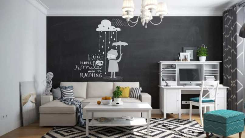 Chalkboard For Home Office