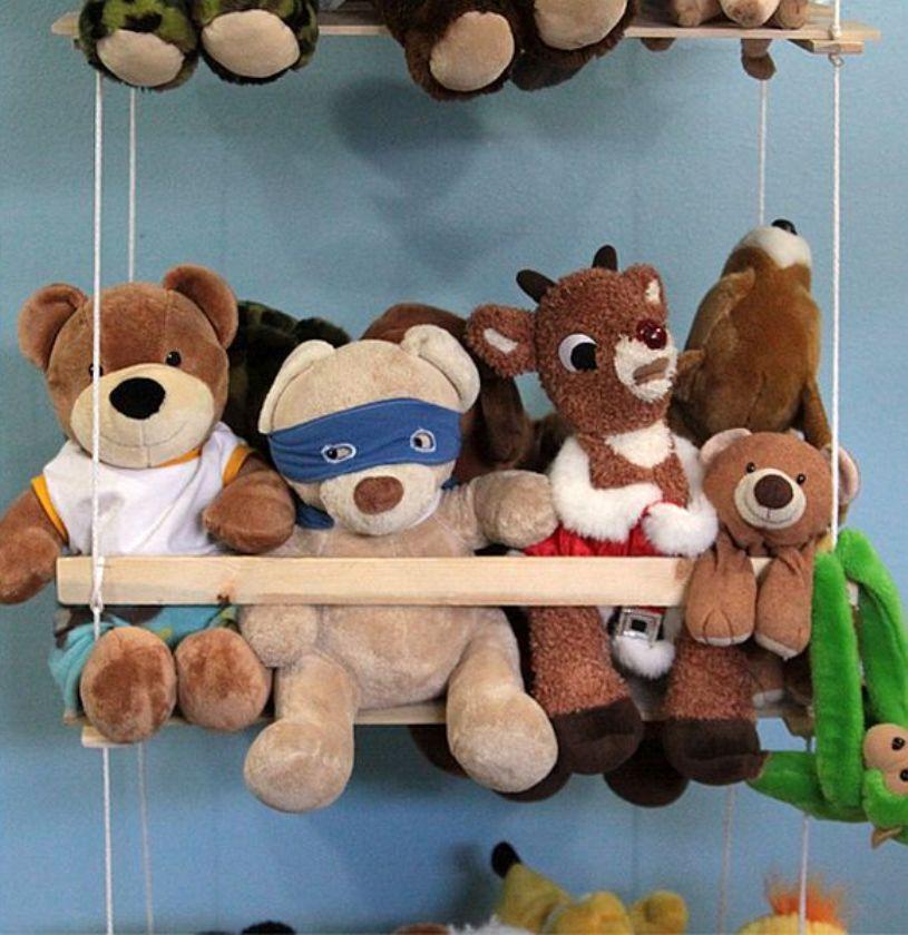DIY Stuffed Animal Swing