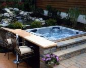 Jacuzzi With Flowing Water