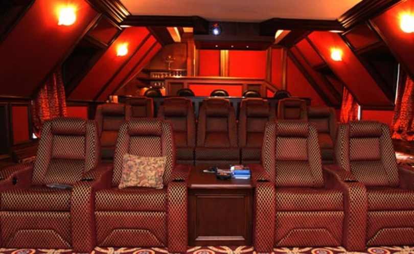 Romantic Home Theater