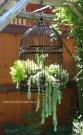 Vintage Garden With Birdcage
