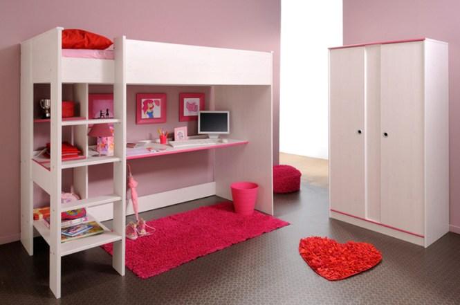Modern Sleek Loft Bed