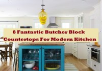 8 Fantastic Butcher Block Countertops For Modern Kitchen