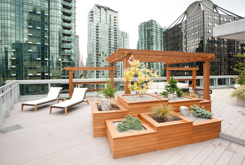 Balcony Terraced Planters
