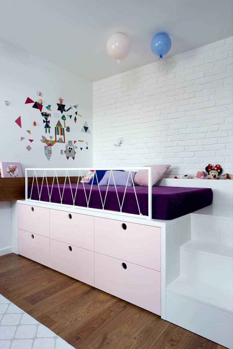 Bedroom With Smart Storage