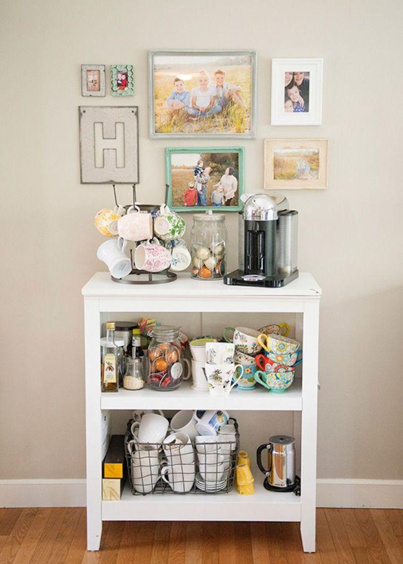 Bookshelf Coffee Bar