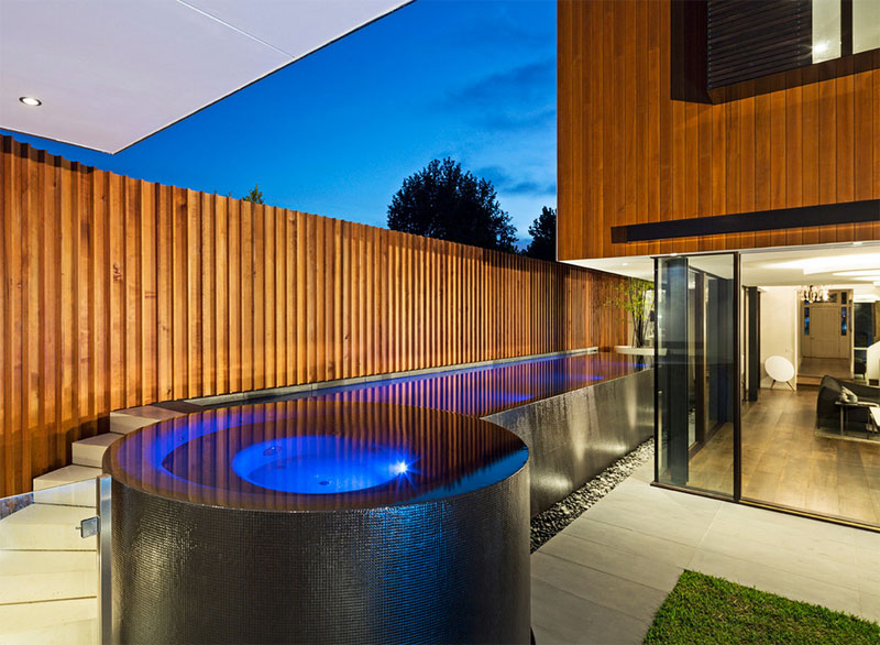 Contemporary Above Ground Pool