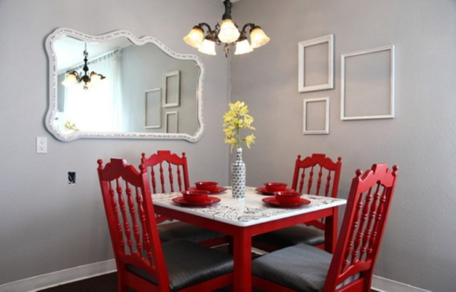 Contemporary Vintage Dining Room