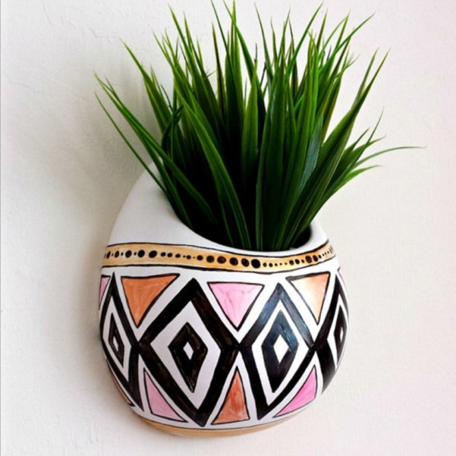 Funky Wall Hung Planter