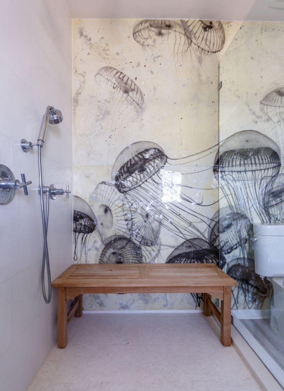 Jellyfish Wall Tile