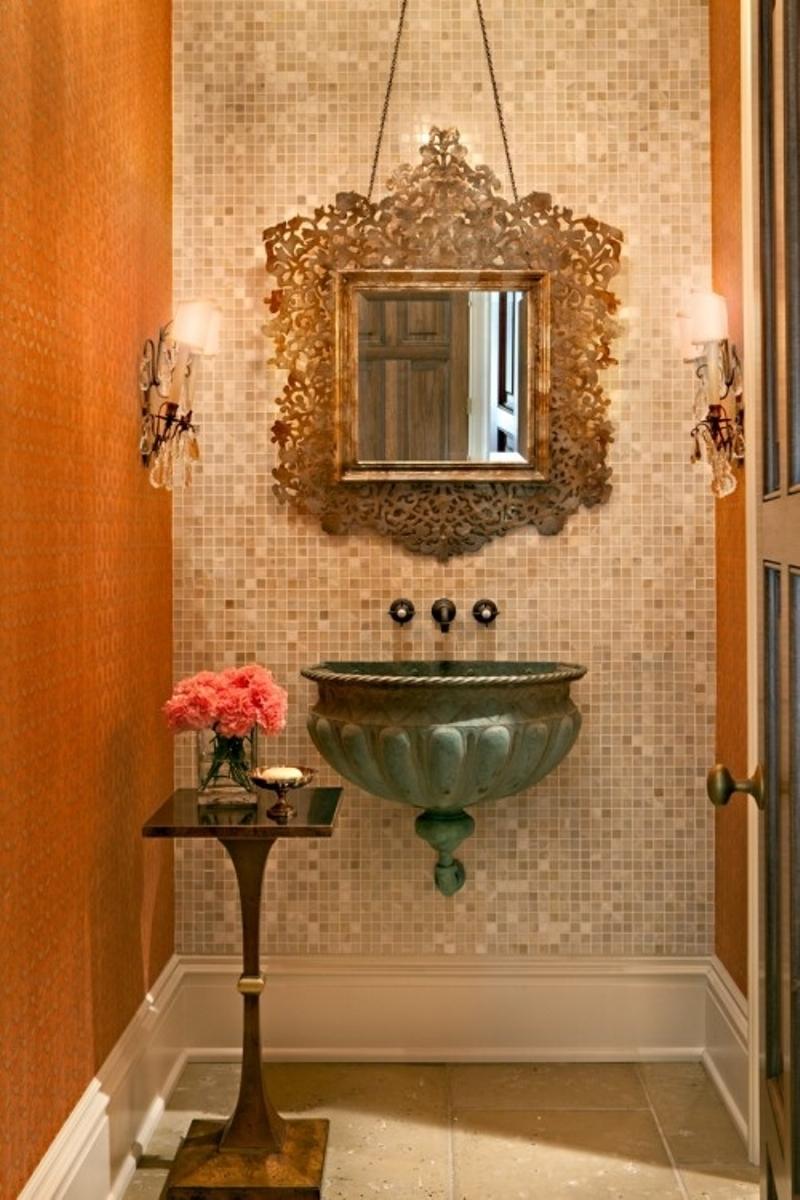 Luxurious Powder Room