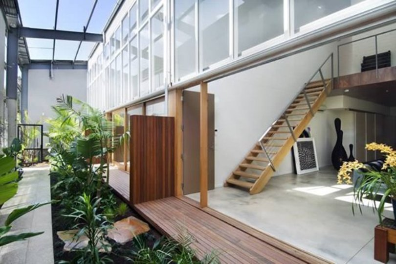 Modern Open Plan Indoor Garden