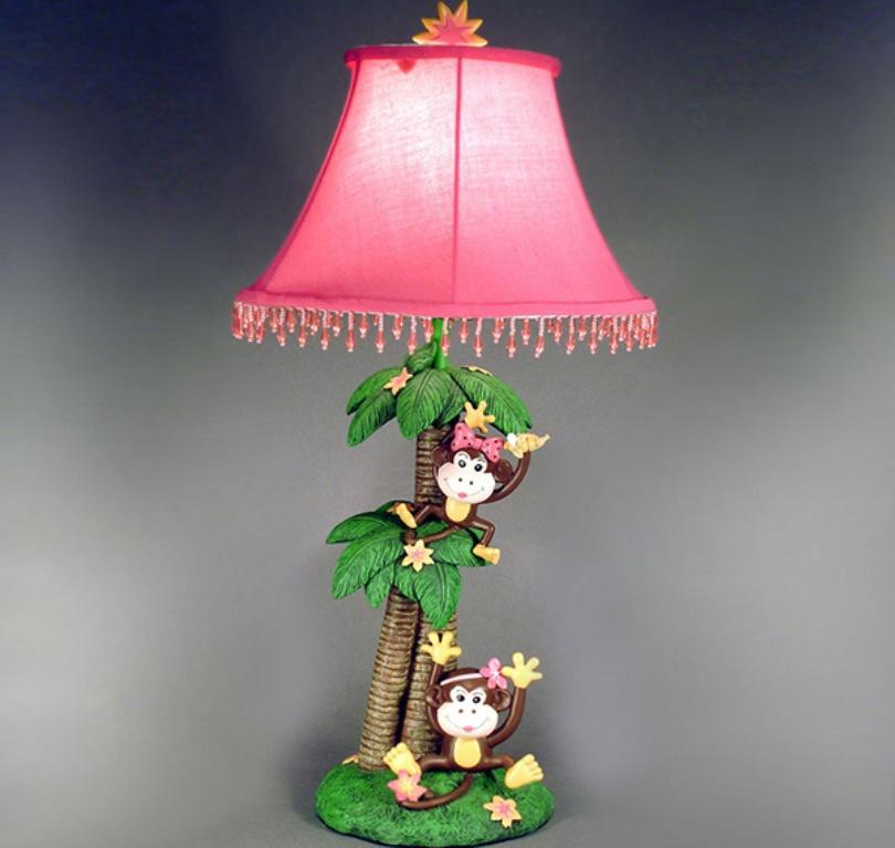 Monkeys Kids Table Lamp