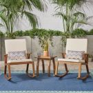 Rocking Chairs & Table Set
