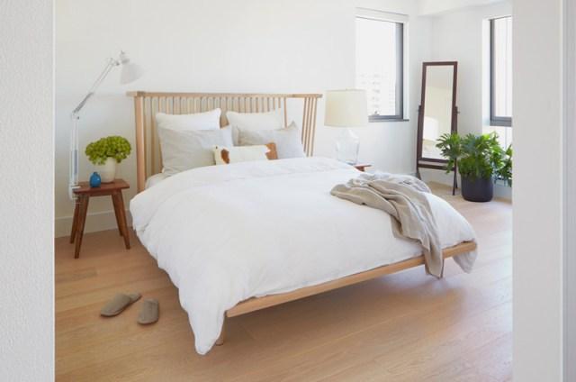 Simple Condo Bedroom