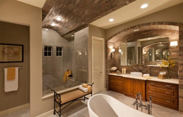 Traditional Craftsmanship Bathroom