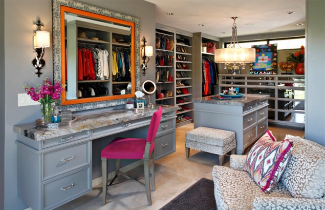 Walk In Closet With More Texture