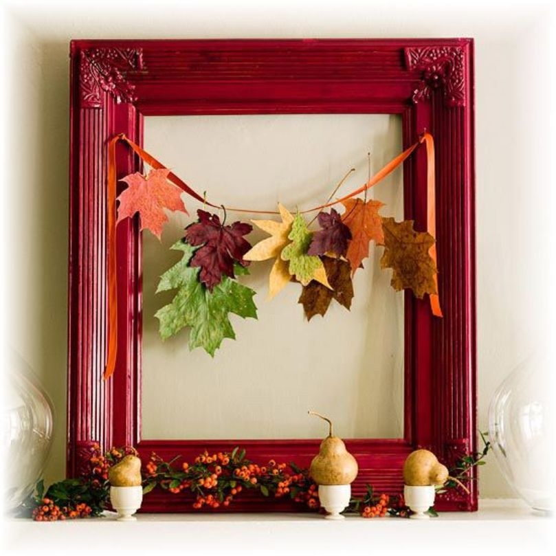 A Cute And Bold Fall Display