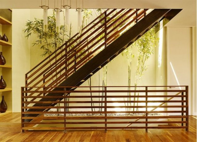 Add Plants Under The Stairs