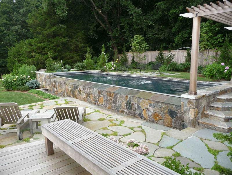 Beach Style Inspired Swimming Pool