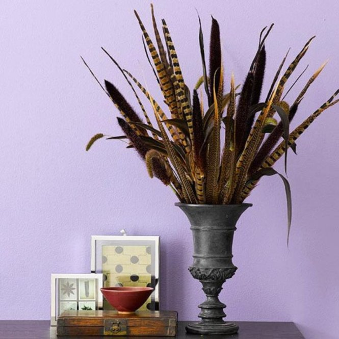 Grass Feathers Table Top