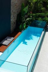 Small Narrow Glass Pool