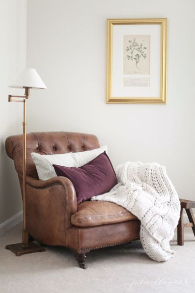 Vintage Inspired Leather Chair