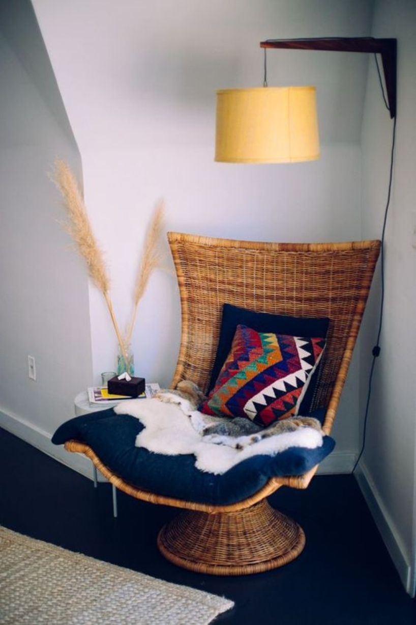 Woven Chair For Reading