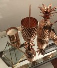 A Festive Copper Pineapple