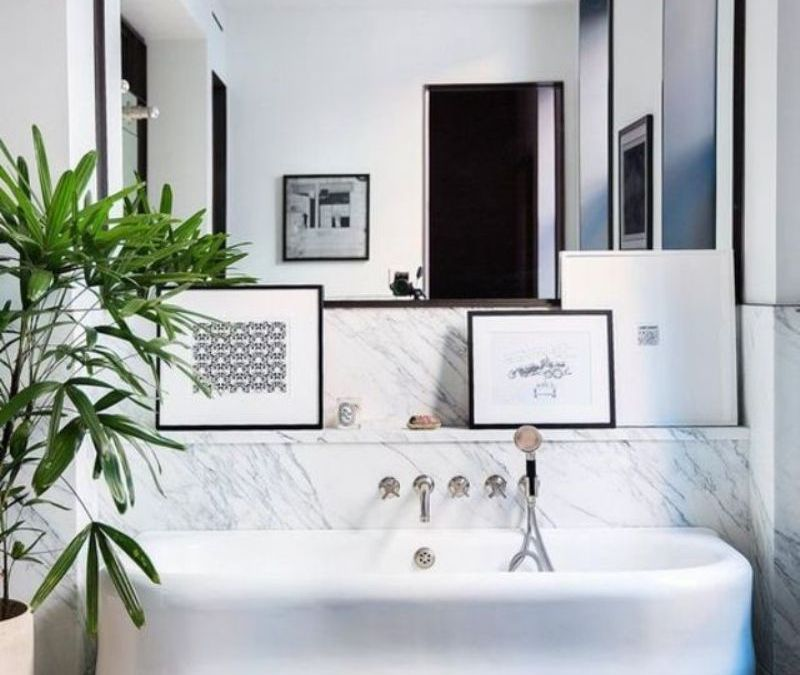 8 Inspiring Bathroom With Artwork Decor Ideas For More Aesthetic Look