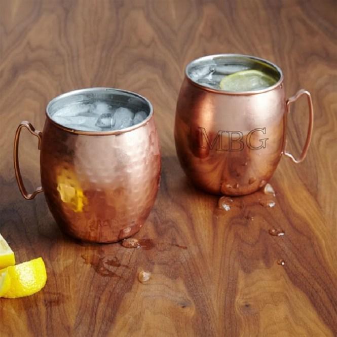 Beautiful Copper Mugs