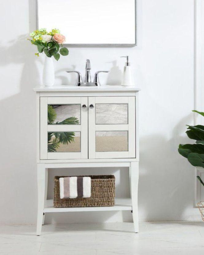 Airy White Vanity