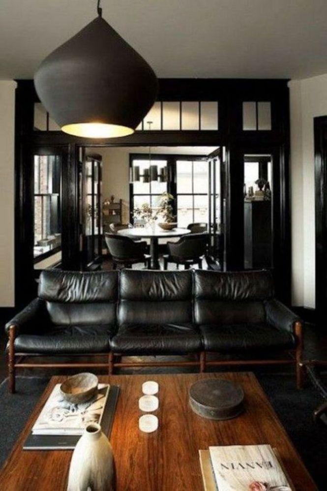 Cozy Dark Manly Room