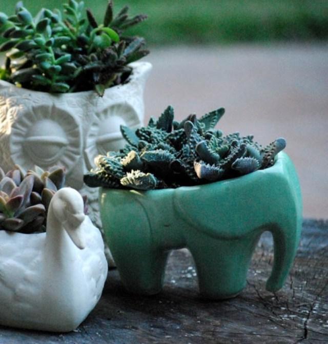 Elephant Shaped Pot