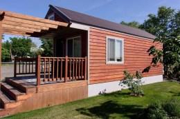 Rustic Cabin From Wood Ceddar
