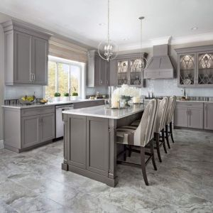 5 Ideas to Be Creative with Your Grey Kitchen Cabinet
