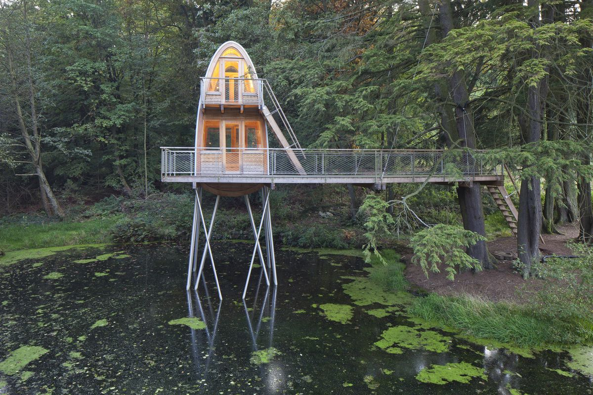 5 Awesome Tree house Designs for You Who Love Eco Dwelling